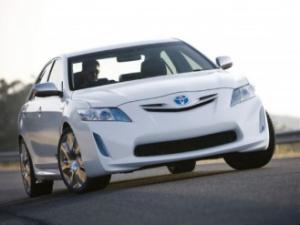 The Camry hybrid concept car