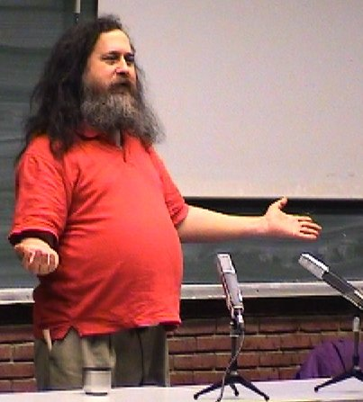 Some people like the free software guru Richard Stallman don't like patents